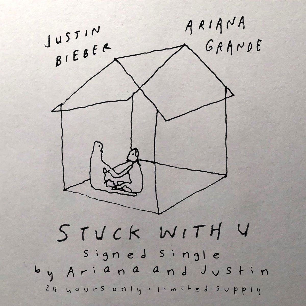 Limited number of #StuckwithU CDs signed by me and @arianagrande for 24 hours starting now. All proceeds to @1strcf https://t.co/YS5pmiEtOa https://t.co/y7ZG9iTIbb