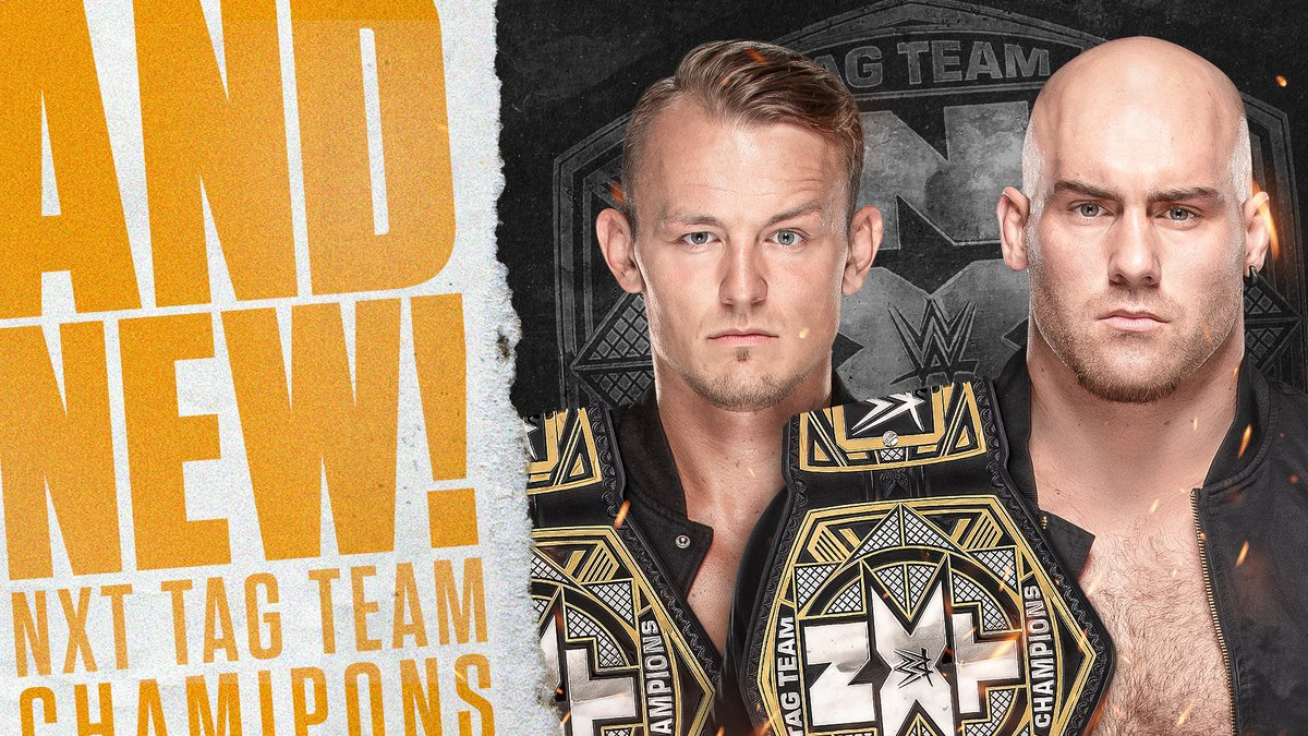 Imperium Wins The NXT Tag Team Titles