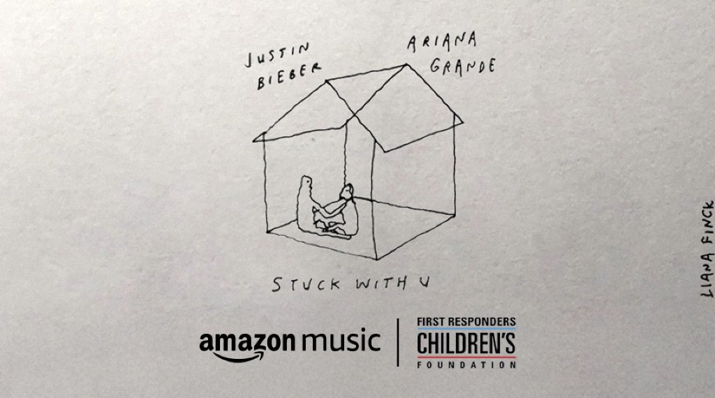 🚨 Calling all @justinbieber & @ArianaGrande fans! We're donating $5 for every download of their latest collaboration #stuckwithu on Amazon Music between now and 9pm PT tomorrow to @1strcf (up to $100K)!   Link to support: https://t.co/oYJiuqtCOW https://t.co/rygGKchVDO