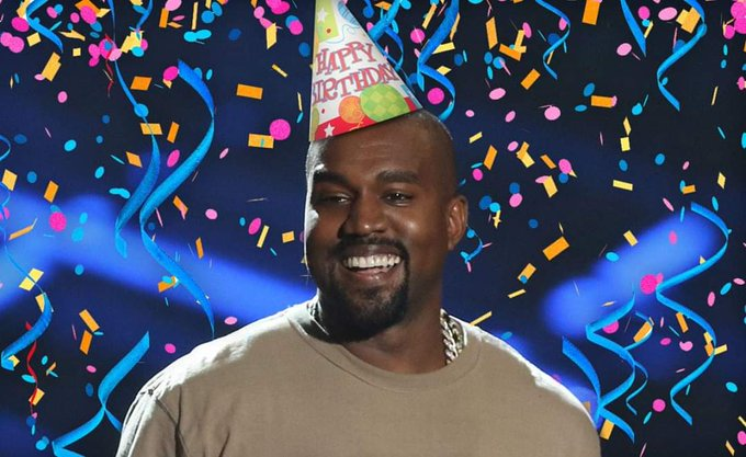 """nothing in life is promised except death\"" - kanye west happy birthday"