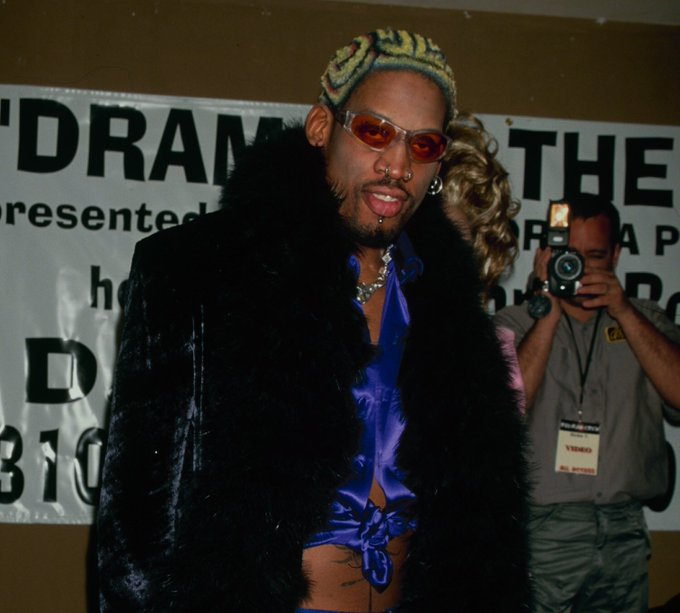 Happy birthday dennis rodman, a true fuck all them icon