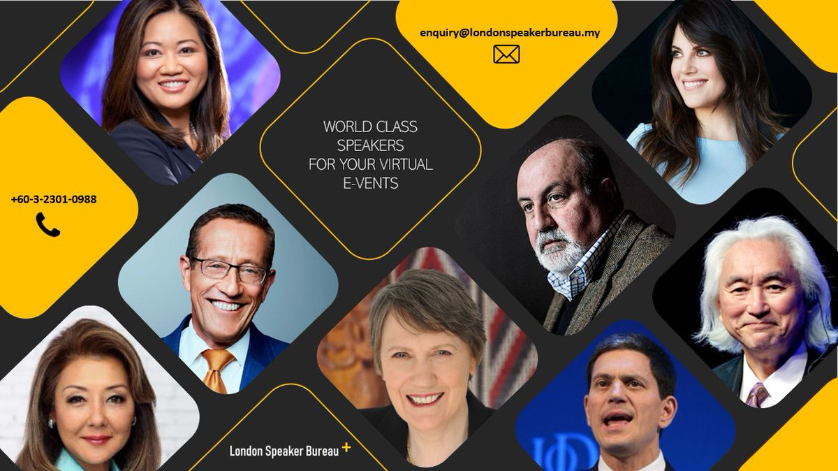 London Speaker Asia On Twitter London Speaker Bureau Offers An End To End Service That Instantly Connects Colleagues Clients And Offices Across The World With Our Leading Speakers Through Webinars And Virtual Events Speak