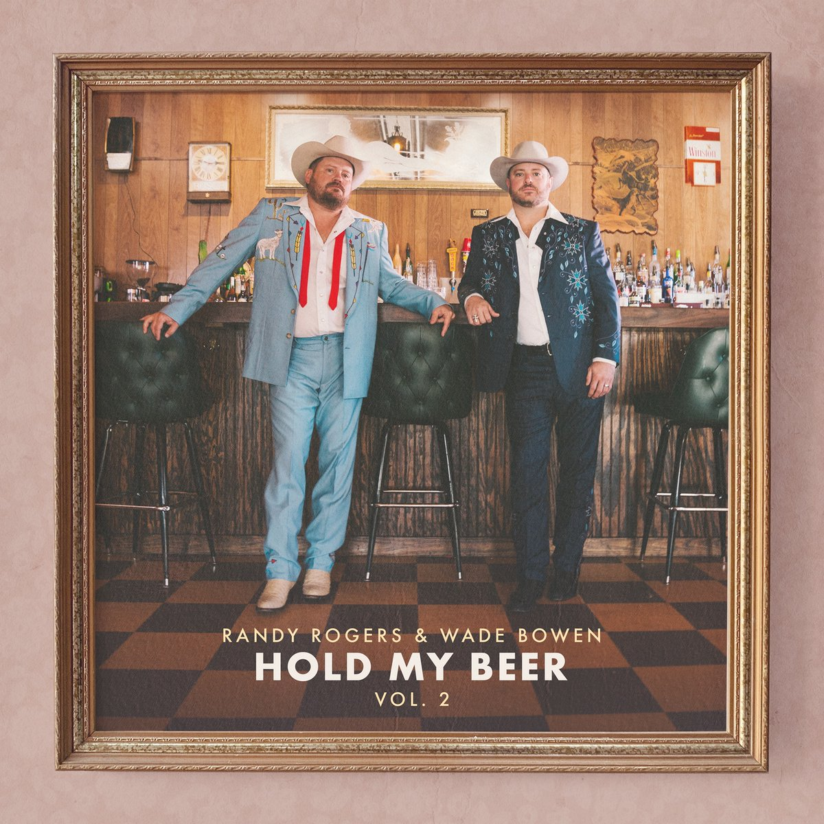 .@hmbandwt Vol. 2 by @randyrogersband & @wadebowen is out now! Check it out here: bstlnk.to/HoldMyBeerVol2  Cheers! 🍺 🎶