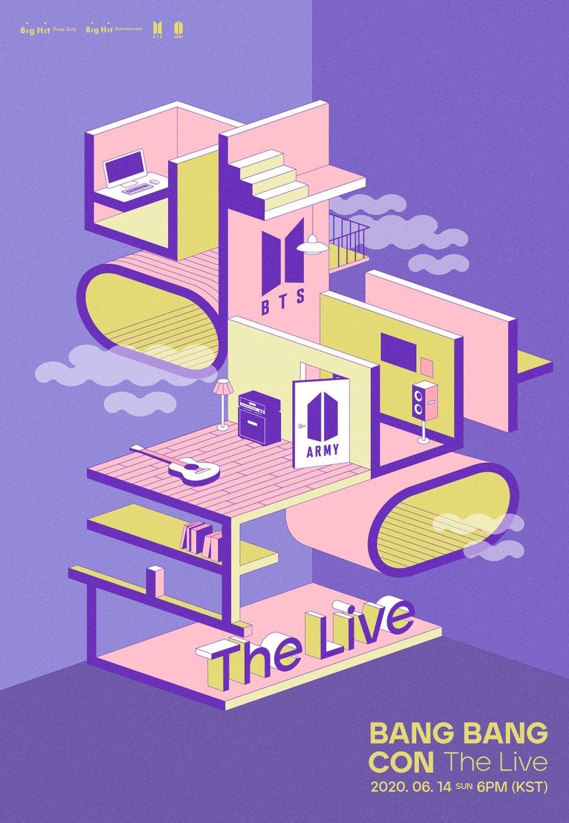 [공지] 방방콘 The Live 개최 안내 (+ENG/JPN/CHN) app.weverse.io/xlaipb #BTS #방탄소년단 #방방콘더라이브 #BANGBANGCON_TheLive