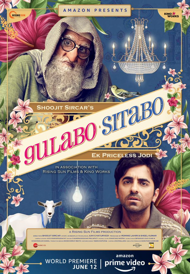 Gulabo Sitabo on Amazon Prime