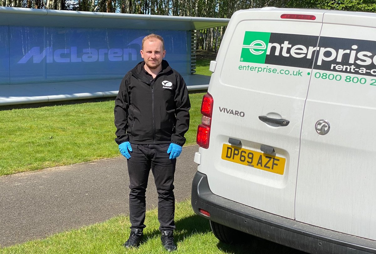 Assured Group Ltd are proud to be working in a joint venture with Enterprise Rent-a-Car & McLaren delivering ventilators directly from McLaren to hospitals in London and the South of England  #flattenthecurve  #stayhomesavelives  #covid19heroes https://t.co/EJ2wAqK3vH