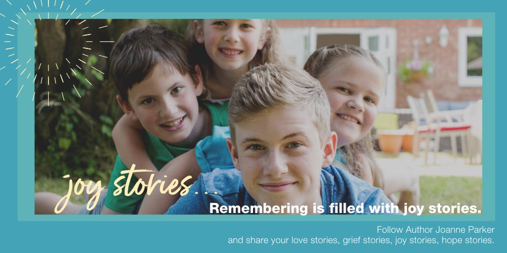 Remembering is filled with #JoyStories.