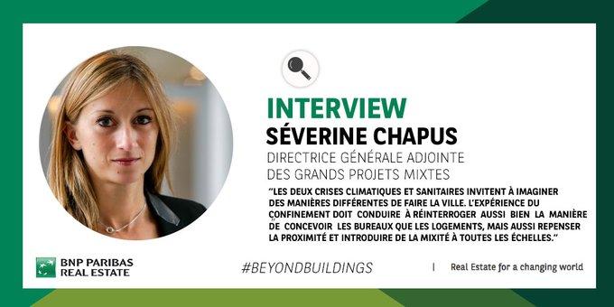 Découvrez l'interview de Séverine Chapus…