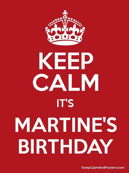 Happy Birthday to Martine McCutcheon, 44 today.