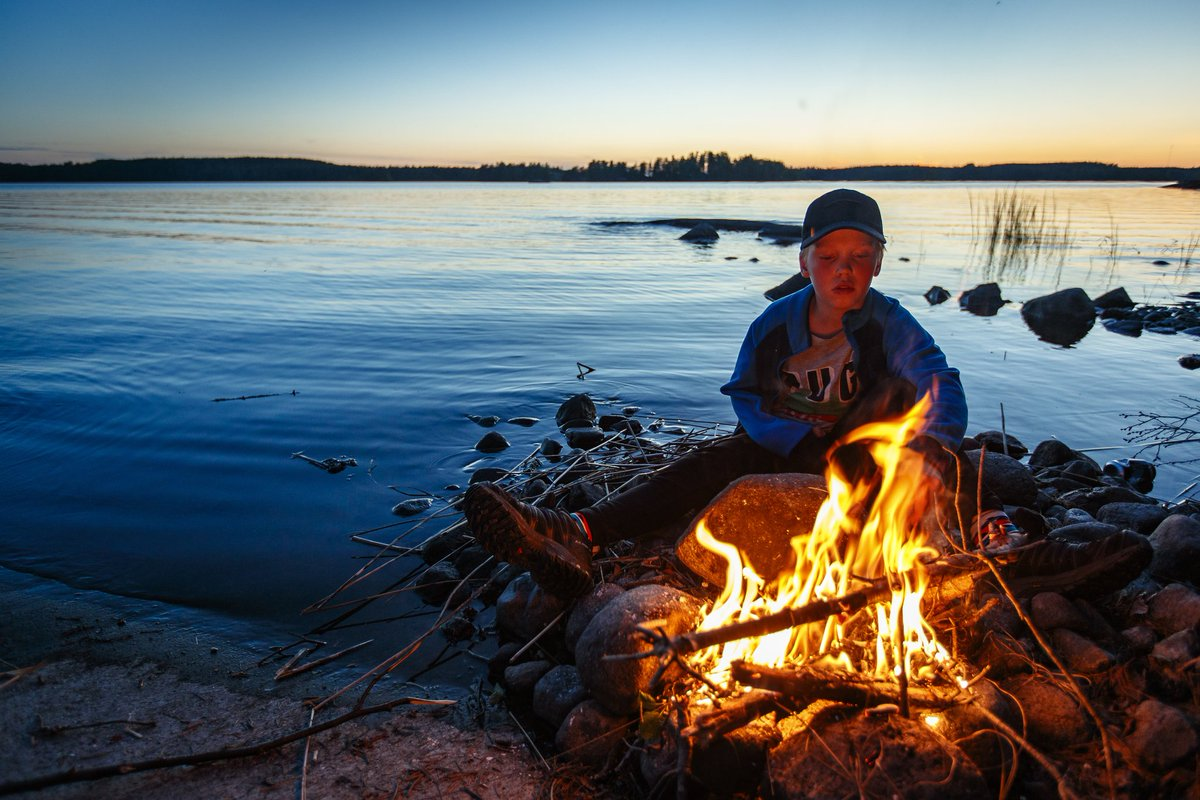 Finland in Summer! Puumala, Saimaa, Finland 📷Credit and Copyright: Mikko Nikkinen – Visit Finland. #naturetravels #Finland #summerevenings