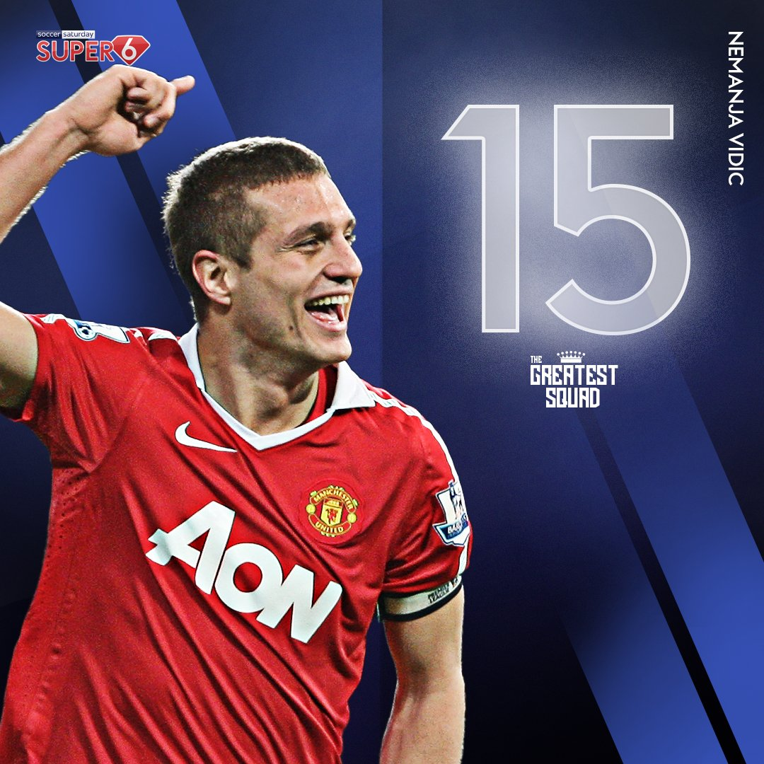 It's a convincing win for Nemanja Vidic 🔴  The @ManUtdlegend takes his place in #TheGreatestSquad at #15 👊 #MUFC https://t.co/KmP8Wc7S4T