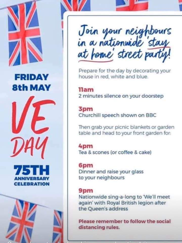 News about #veday75 on Twitter