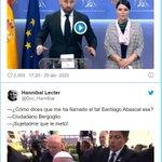 Image for the Tweet beginning: Vox... ese partido tan reaccionario,
