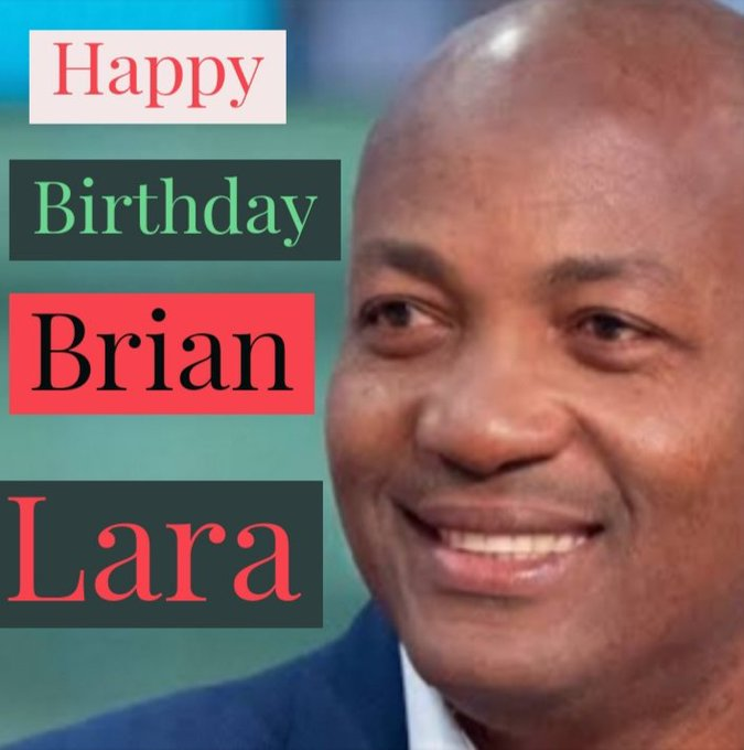 Happy 5  1  st Birthday, Brian Lara