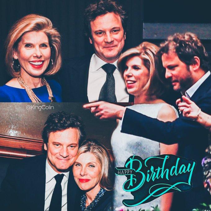 Happy birthday Christine Baranski