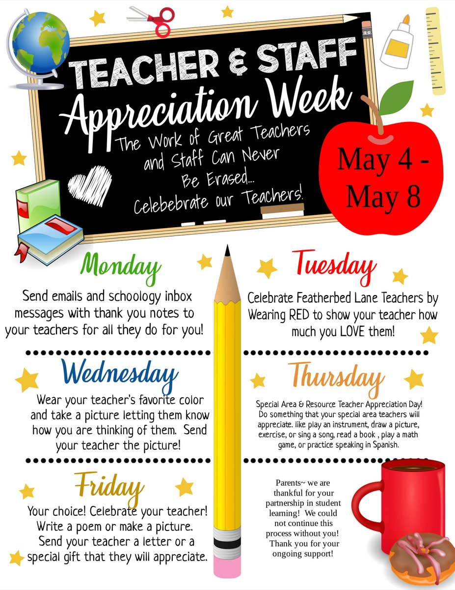 Help us celebrate our @flesbcps Teachers! 💕