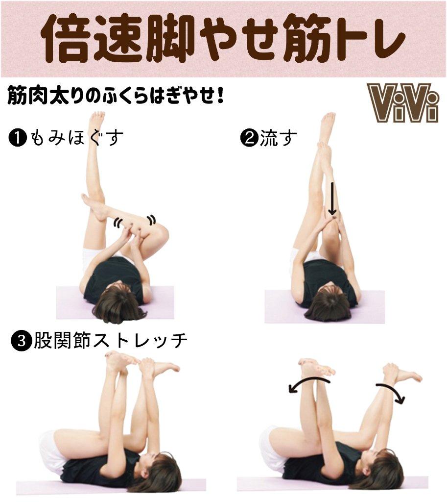 トレ 足 痩せ 筋 【内もも痩せ】内転筋を鍛えて太ももの間に「スキマ」を作る方法