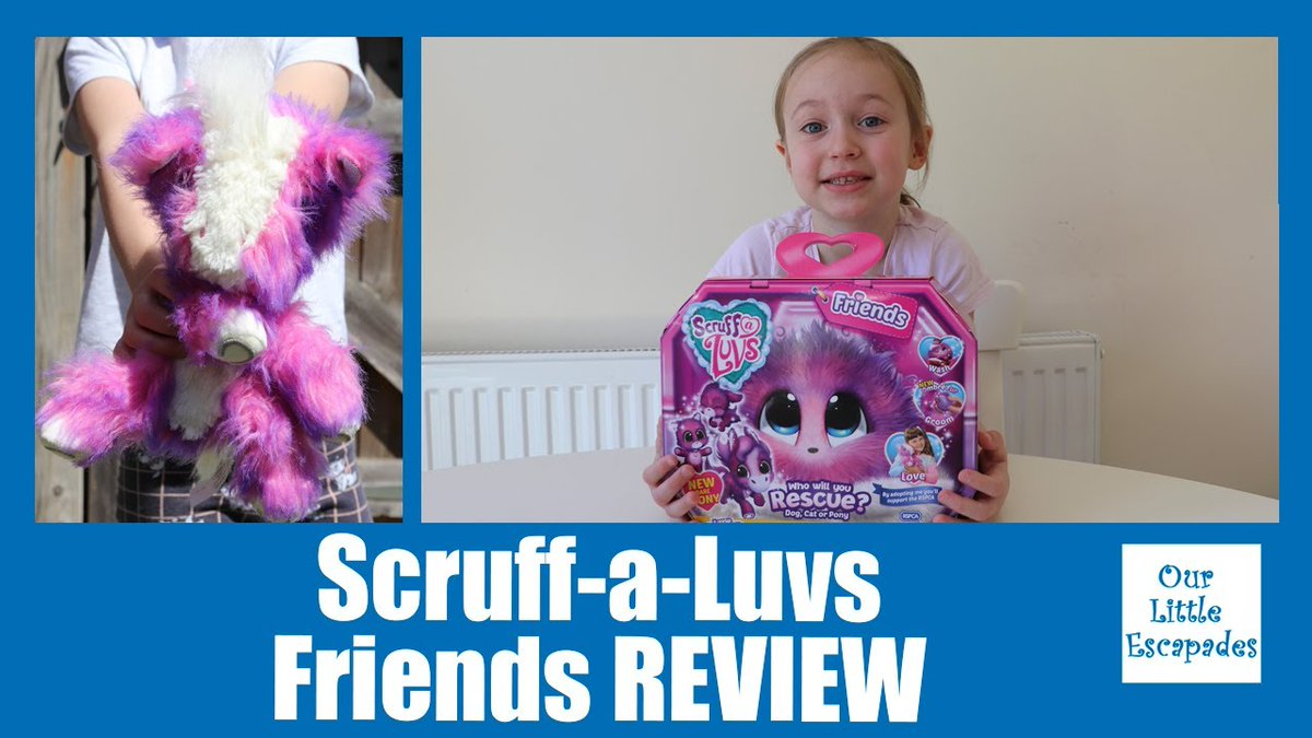 "AD/Gifted we were sent a lovely bundle of #ScruffaLuvs from #moosetoys in our latest video we open the ""Scruff-a-Luvs Friends - REVIEW - Wash & Reveal Scruff-a-Luvs Unboxing"" @ScruffALuvs @moose_toys #toyunboxing #toyreview  Watch Now:"