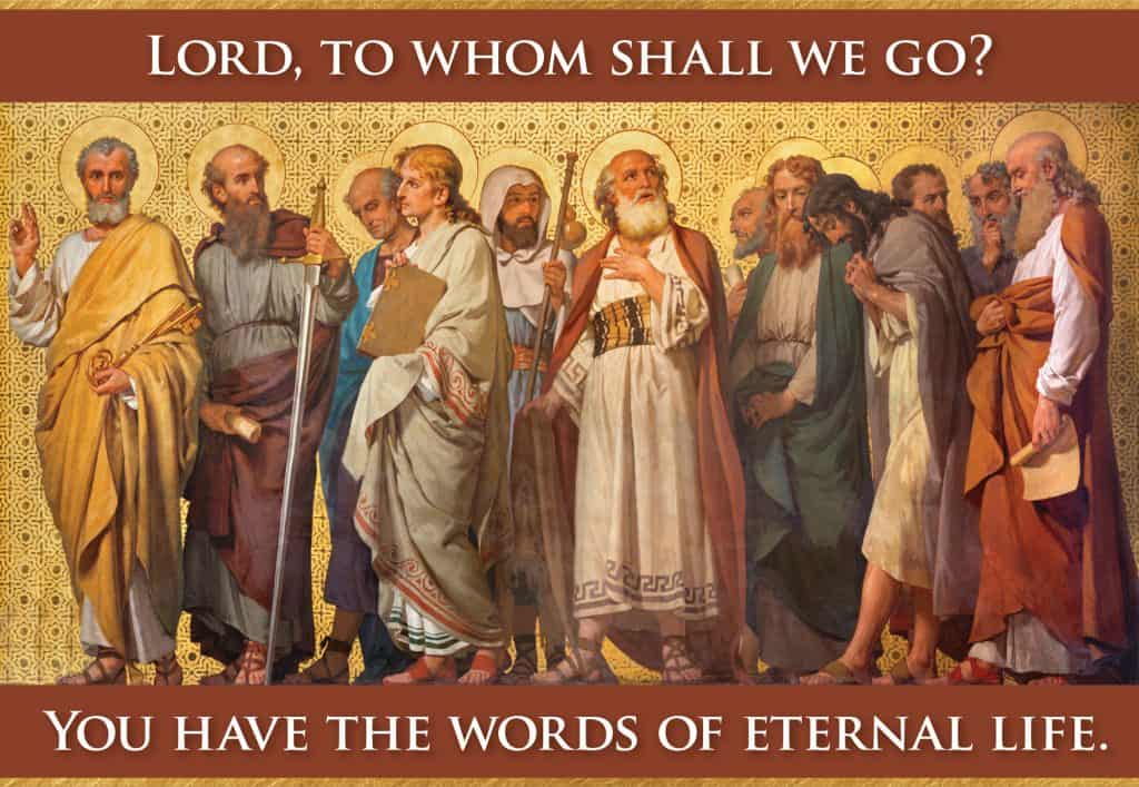 """Tom on Twitter: """"Simon Peter answered him, """"Lord, to whom shall we go? You  have the words of eternal life; and we have believed, and have come to  know, that you are"""