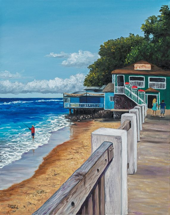 """Featured Art of the Day: """"Front Street Lahaina"""". Buy it at:  https://www. ArtPal.com/darice?i=10440 2-3  … <br>http://pic.twitter.com/2bjRylSY1l"""