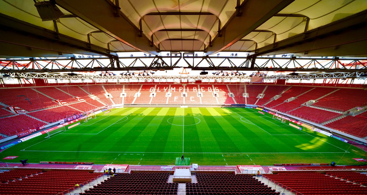 Olympiacos Fc 46 On Twitter There Is No Place Like Our Castle Olympiacos Karaiskaki Home View Wekeepondreaming Football Stadium