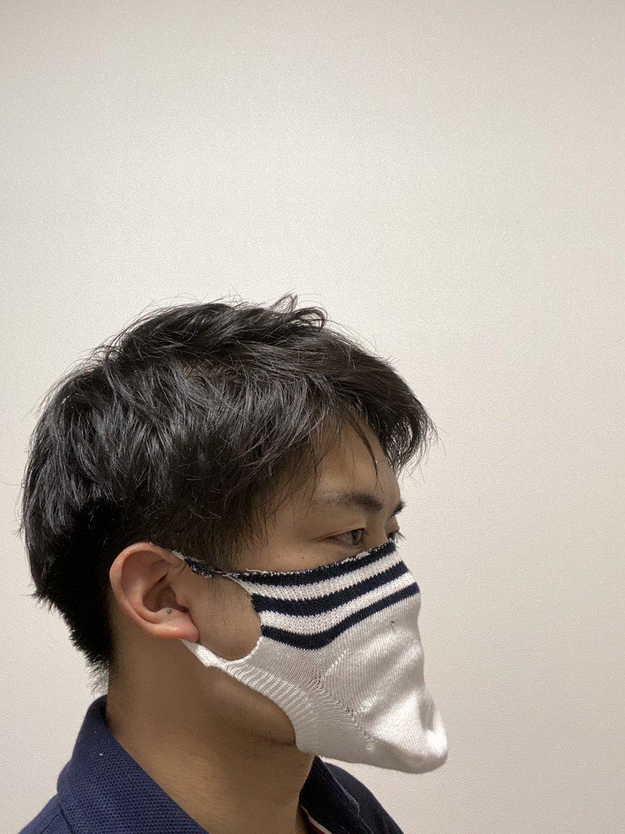 マスク の 作り方 靴下 で