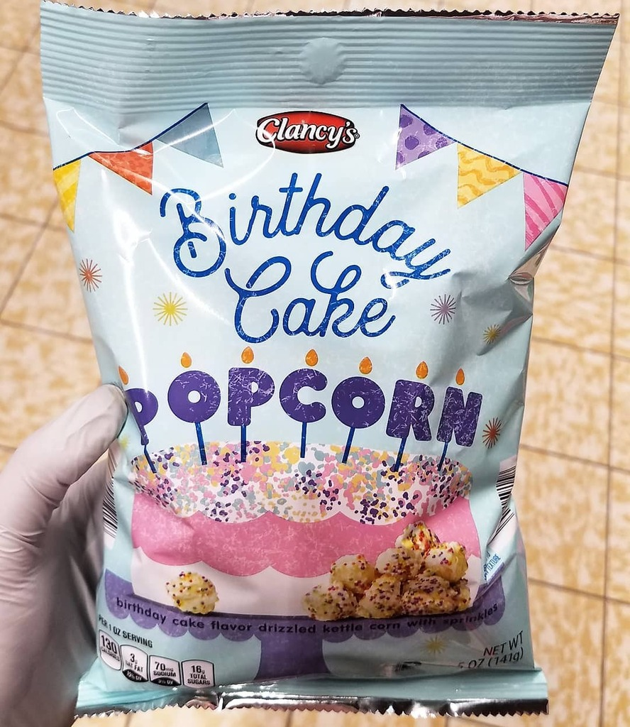 Stupendous Candy Hunting On Twitter New Birthday Cake Popcorn Is Out Now At Funny Birthday Cards Online Fluifree Goldxyz