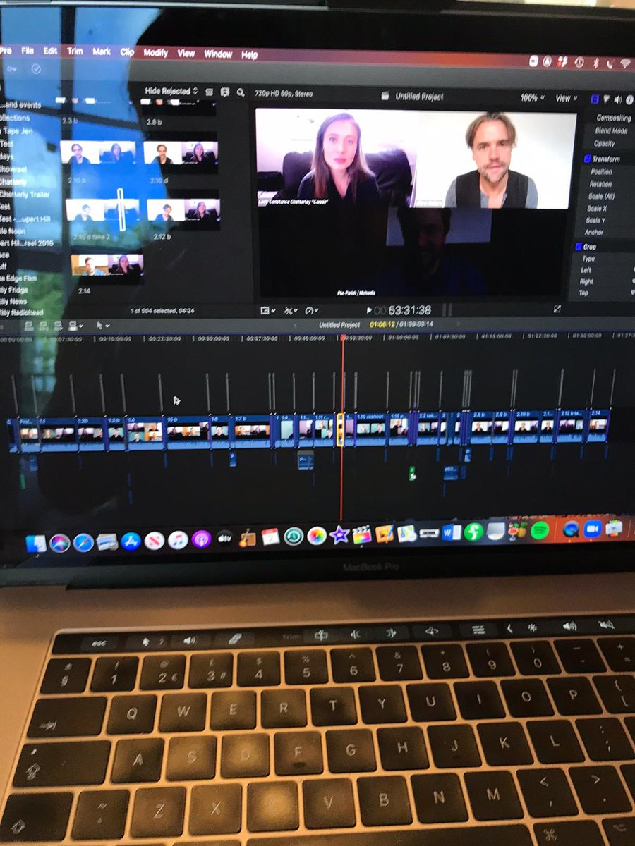 Been busy producing something special 4 @tiltedwiguk. Our tour #LadyChatterleysLover was cut short - so we've made an online version! Much more than a Zoom reading - this is fully rehearsed, played + developed. inc clips + orig. score. @RupertHill busy editing now. Coming v soonpic.twitter.com/MaL8YESBcR