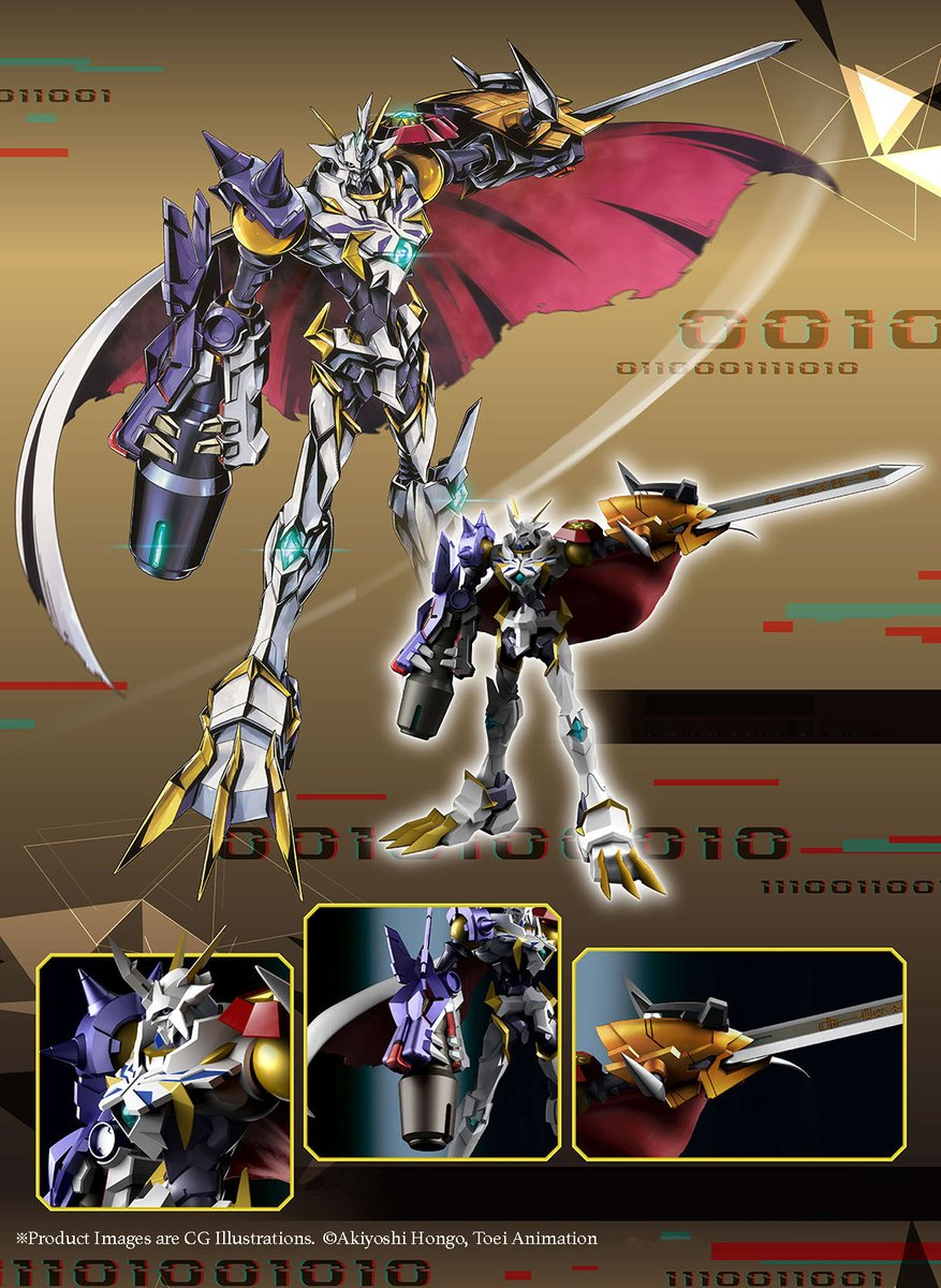 test ツイッターメディア - Omegamon X-Antibody is finally here! From sword to 8 inch silhouette, the high quality details on this posed figure are totally digi-tastic! Pre order yours today! https://t.co/TSfNhlpHZ2  #Digimon #デジモン #BandaiAmerica #Digitalmonster #PremiumBandai https://t.co/SBPPbQxHkM