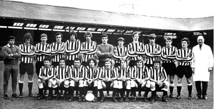 Help required. We are trying to trace the following former #nufc juniors from 1971 Peter Ewart, Billy King, Bobby Chitton, John Ayre, Steve Allan for future reunions. Please DM any contacts. Please RT. We already have contact for the others. https://t.co/1mvZ4jtUEz