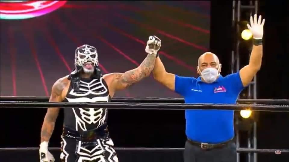 Luchadores de la AAA opinan sobre pelear sin gente en las arenas y se preparan para la final de la Lucha Fighter AAA