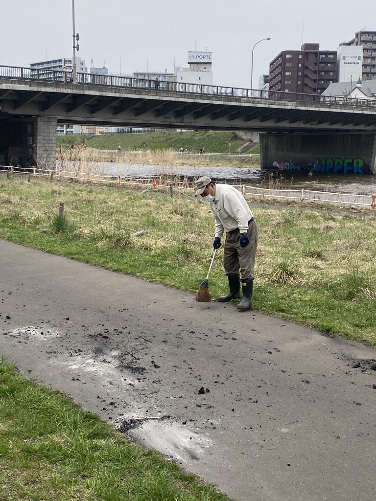これが札幌の民度です。例年より酷い状況です。こっちが恥ずかしいわ!