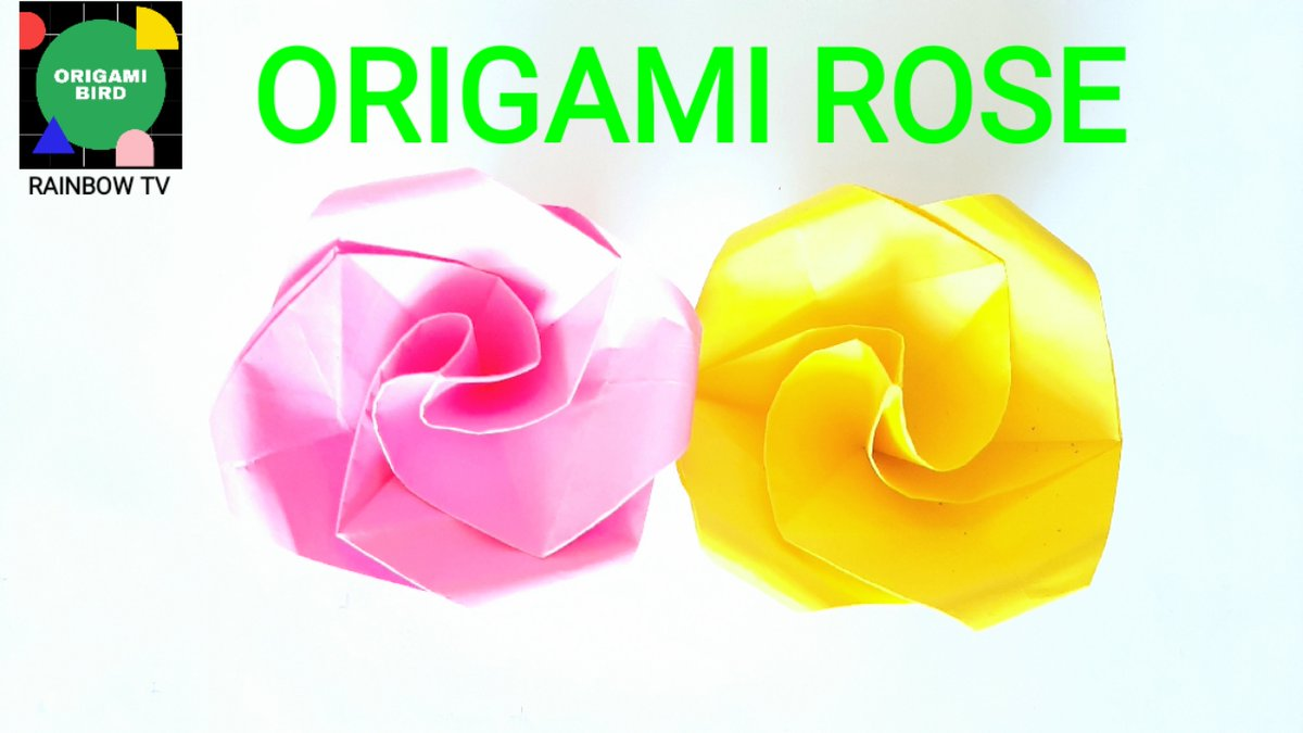 How To Make an Origami Magic Rose Cube (Valerie Vann) - YouTube | 675x1200