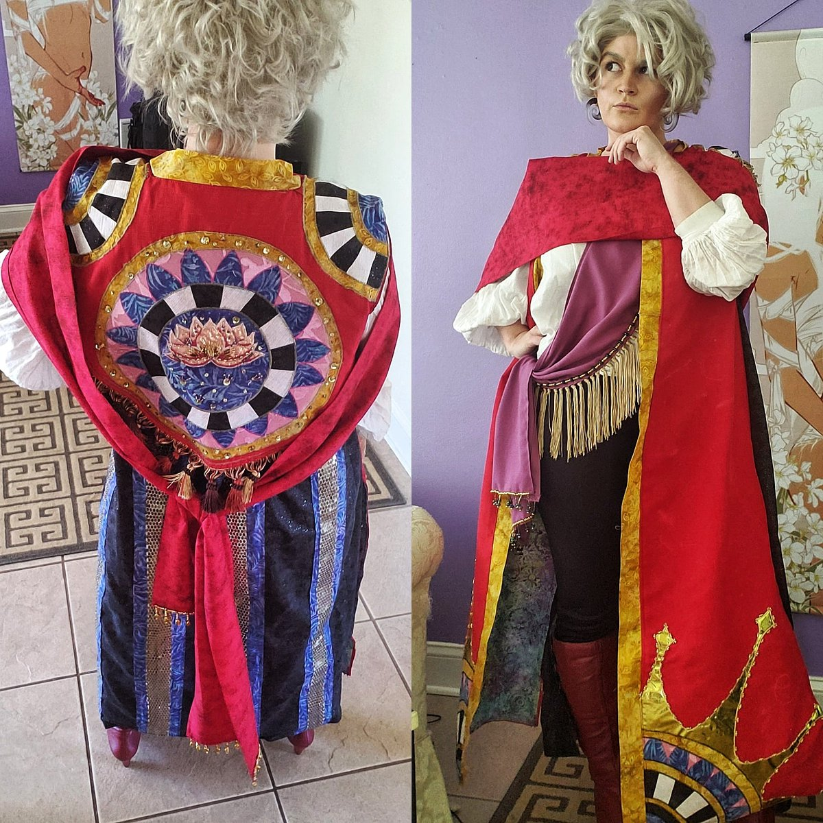 This is what I've been working on during isolation. I'm not quite done yet but I'm getting closer! Hopefully I'll have a con to wear it to this year. /cough, cough/ Metrocon /fingers crossed/. #asrathearcana #metrocon2020 #thearcanacosplay #asracosplay pic.twitter.com/IaQPdYmqSp
