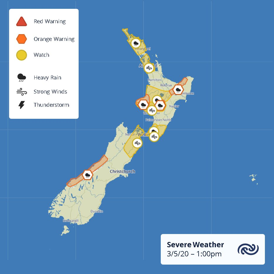 Here are the current active Severe Weather Watches and Warnings. Full details on  bit.ly/AllWarnings ^TA https://t.co/YkKzJ7mNJk