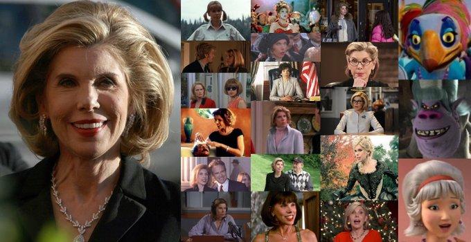Happy 68th Birthday to Christine Baranski!