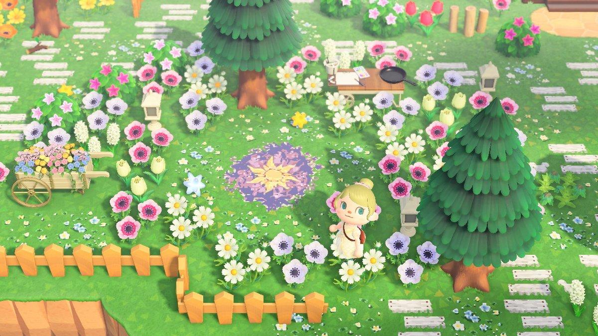 あつ 森 お花畑