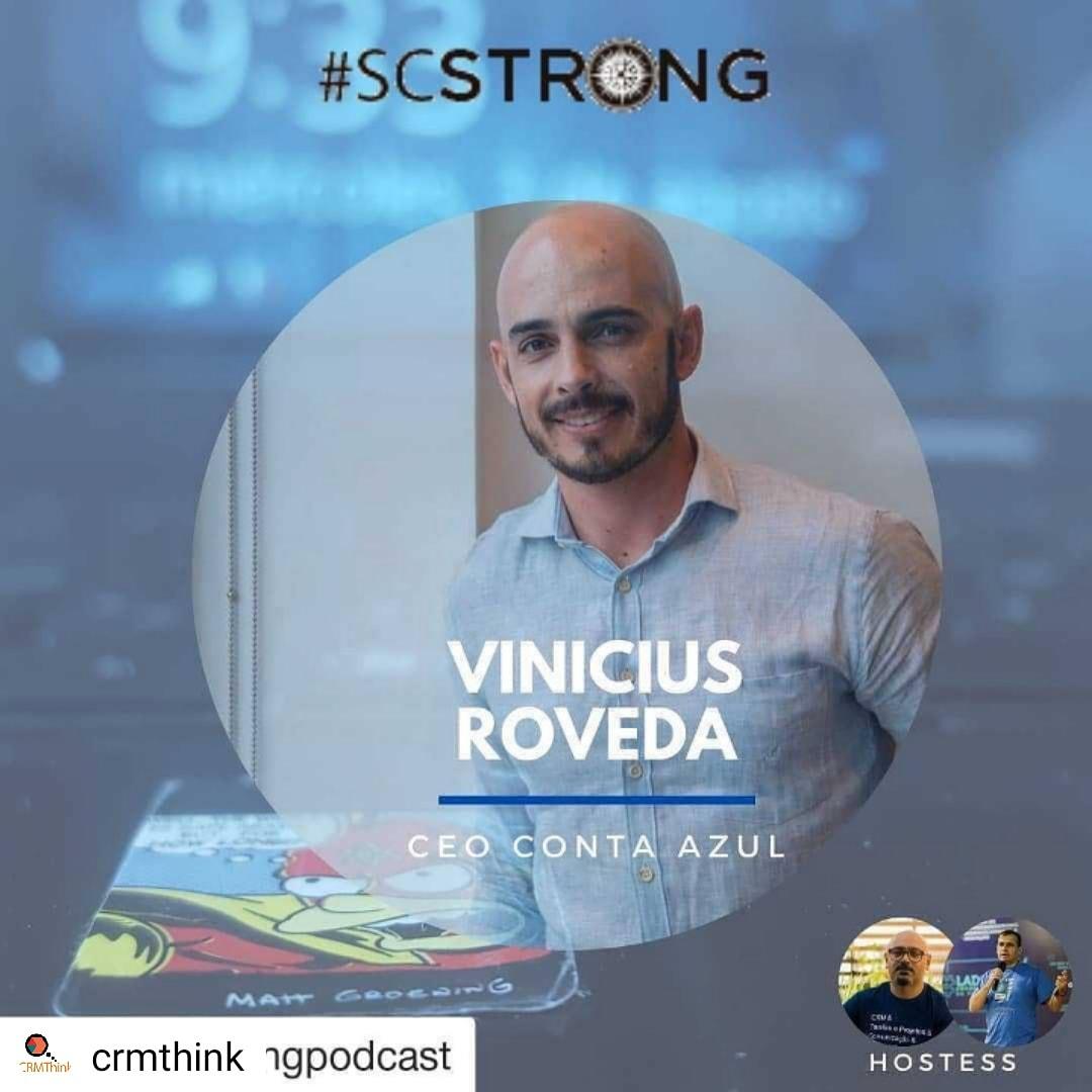 Nosso projeto Scstrong.  Episódio de Entrevista com Vinicius Rovenda @ContaAzul  #SCStrong #podcast https://t.co/3mCmRoksdC https://t.co/MxiScoxtRu