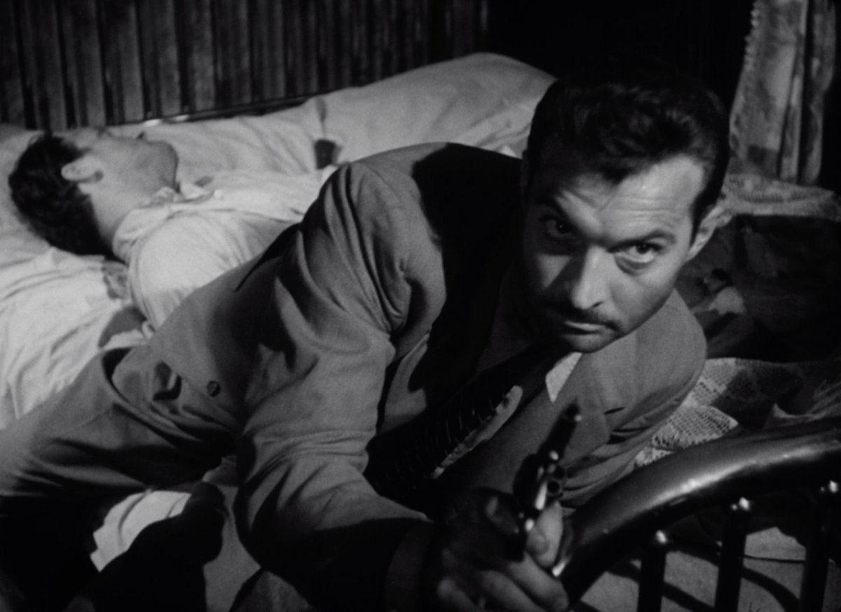 """The Nitrate Diva ar Twitter: """"""""You haven't gone as far as you can until  you're dead."""" GUILTY BYSTANDER (Joseph Lerner, 1950)… """""""