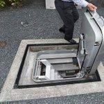 狭い土地でも作れる避難用シェルター。お値段300万円(工事費別)で設置可能。
