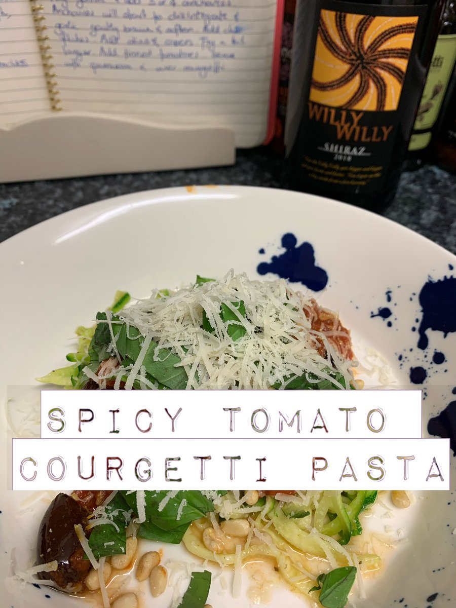 New episode out... super easy and very healthy spicy tomato Courgetti. Ready in under 15 minutes   Please , share and subscribe xxx   https:// youtu.be/yw0Y94fo-Go     via @YouTube #EasyRecipes #recipe #healthy #lockdown #QuickAndEasyFood #food #Foodie #eatwell #homecooking #yum<br>http://pic.twitter.com/DmxN3tgGk6