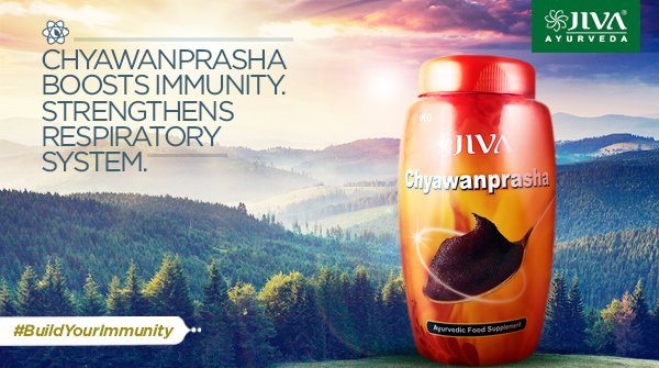 A strong immune system acts as defence against several infections and allergies. Chyawanprasha has essential herbs that prevents infections. Daily consumption would boost immunity and keep health hazards away.  IMAGES, GIF, ANIMATED GIF, WALLPAPER, STICKER FOR WHATSAPP & FACEBOOK