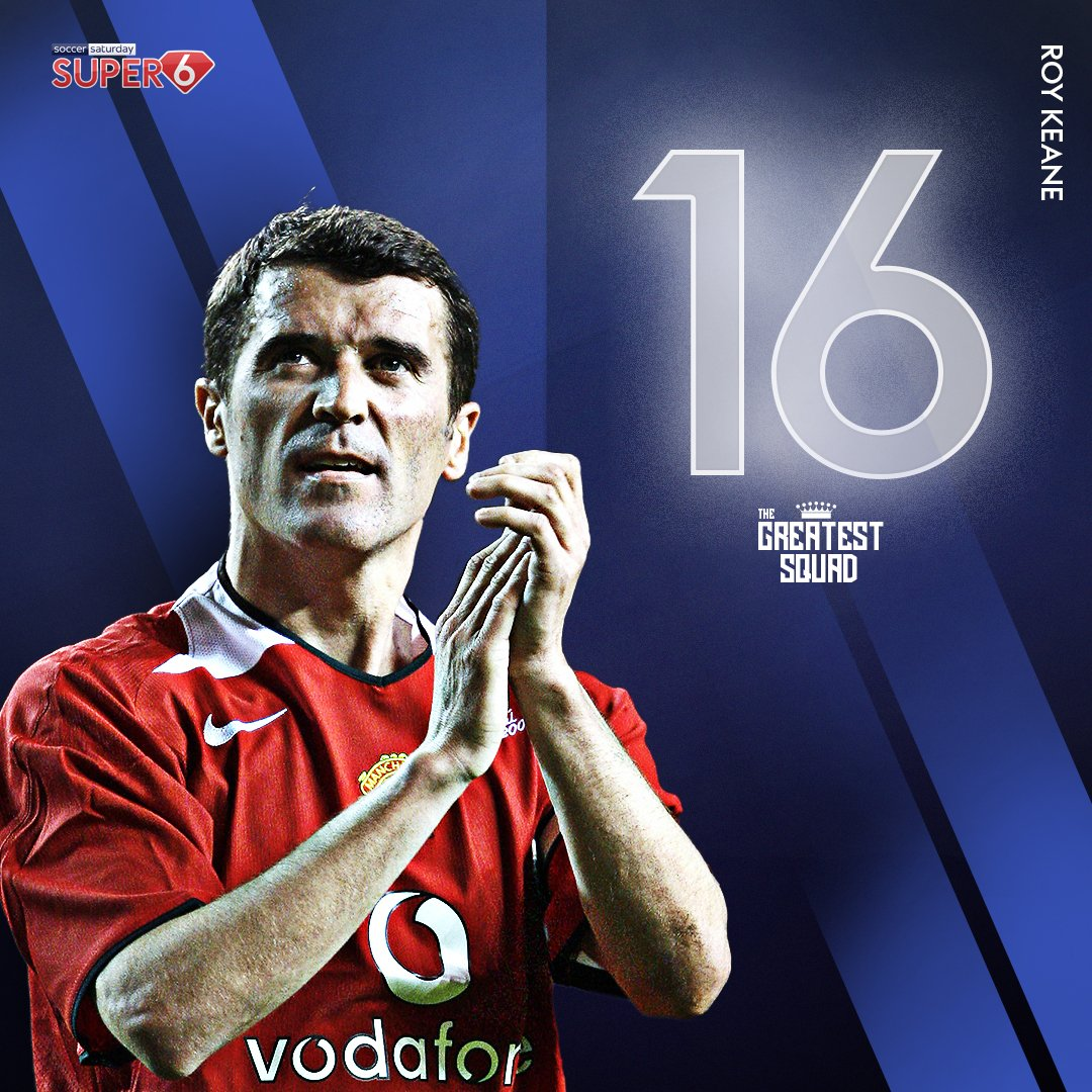 It's a landslide victory for Roy Keane 💪  The #MUFC legend takes the #16 shirt in #TheGreatestSquad 🔴  A natural born leader & winner 👊 https://t.co/wn822x3kLb