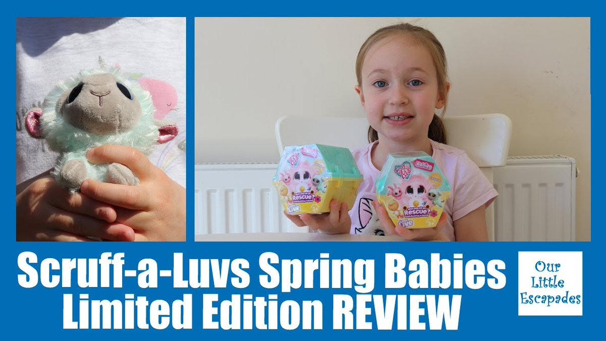 "AD/Gifted we were sent a lovely bundle of #ScruffaLuvs from #moosetoys in our latest video we open the ""Scruff a Luvs Spring Babies Limited Edition REVIEW - Scruff-a-Luvs Babies Unboxing"" @ScruffALuvs @moose_toys #toyunboxing #toyreview  Watch Now:"