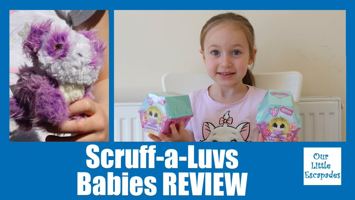 "AD/Gifted we were sent a lovely bundle of #ScruffaLuvs from #moosetoys in our latest video we open the ""Scruff a Luvs Babies REVIEW - Scruff-a-Luvs Babies Unboxing Reveal"" @ScruffALuvs @moose_toys #toyunboxing #toyreview  Watch Now:"