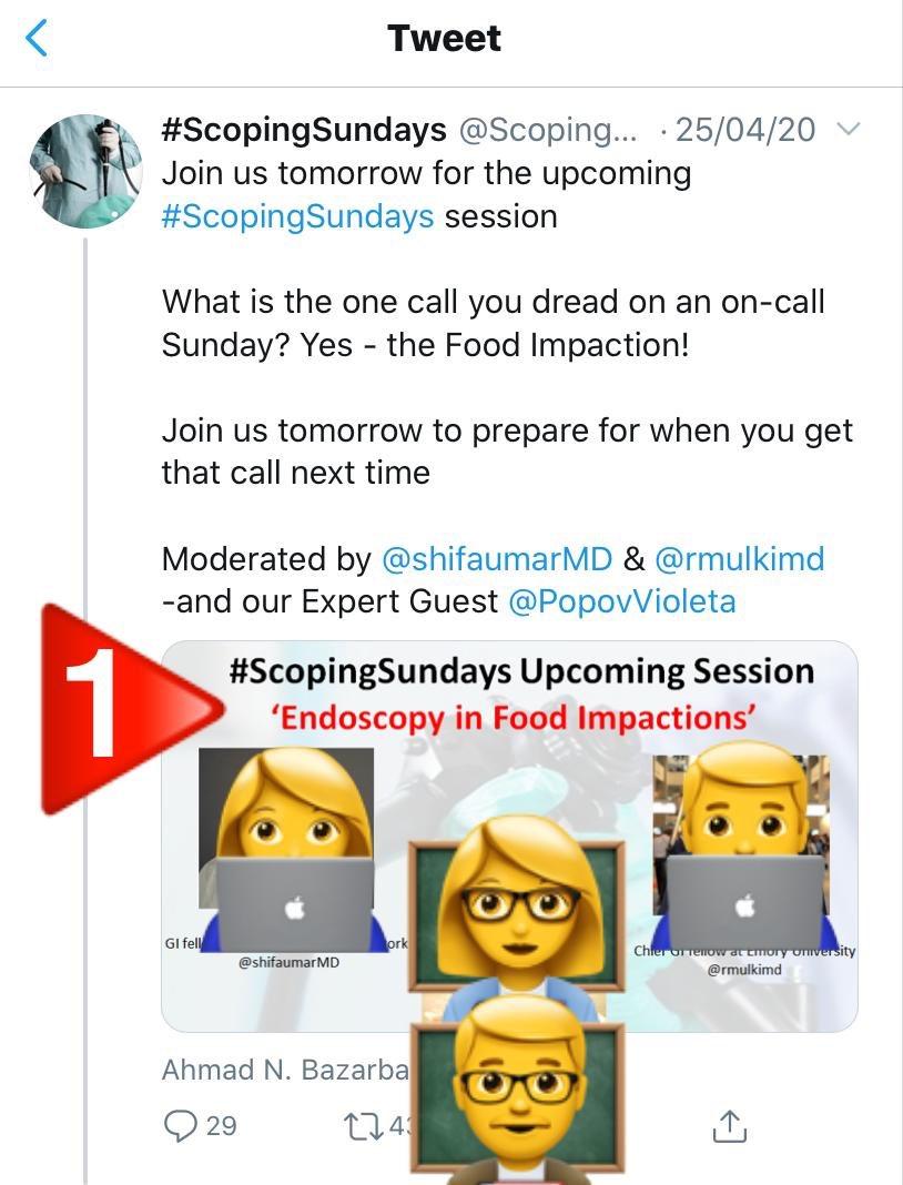¿Cómo funciona @ScopingSundays?   1️⃣Cada domingo 📅 existe un tema a debatir  2️⃣La/El moderador presentará un  #MedCase principal y preguntas complemetarias a debatir.  3️⃣Participa en la encuesta y da RT 🔁  4️⃣Opina en el TL del twit y debate con la comunidad de #ScopingSundays https://t.co/GZb0kHd2TN