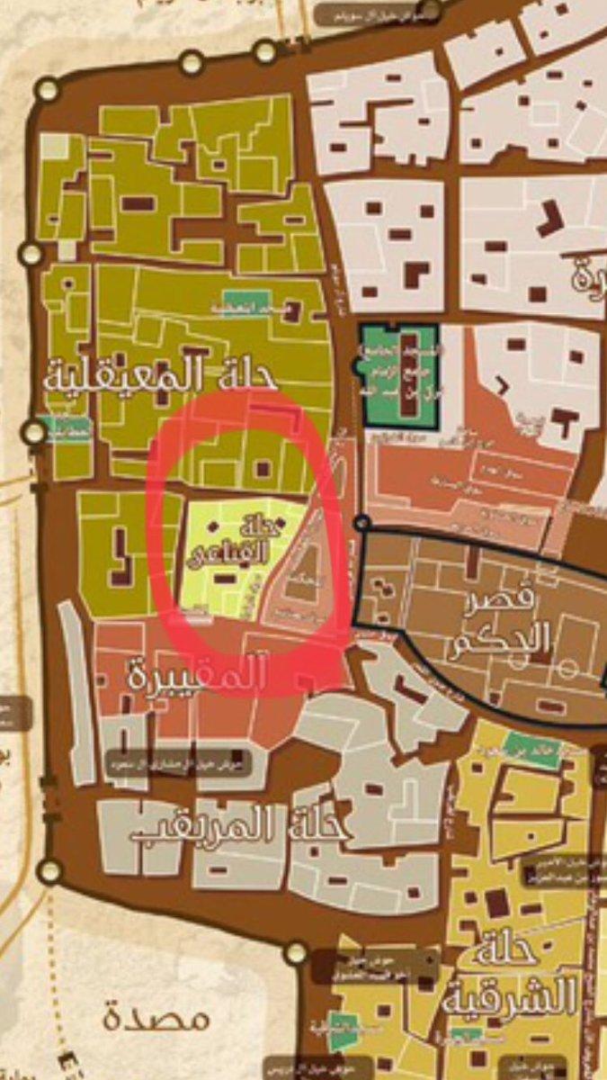 عبدالعزيز عبدالله النمي Di Twitter حلة حي القناعي في خريطة الرياض القديمة غرب قصر المصمك قصر الحكم عائلة عريقة في نجد ترجع لقبيلة السهول