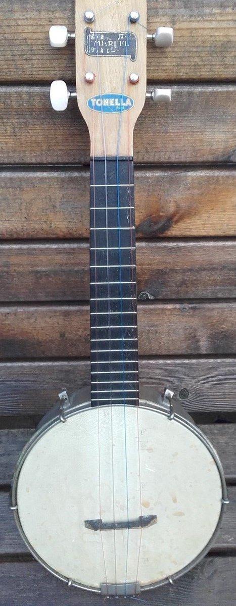GH&S made tonella Banjo Ukulele