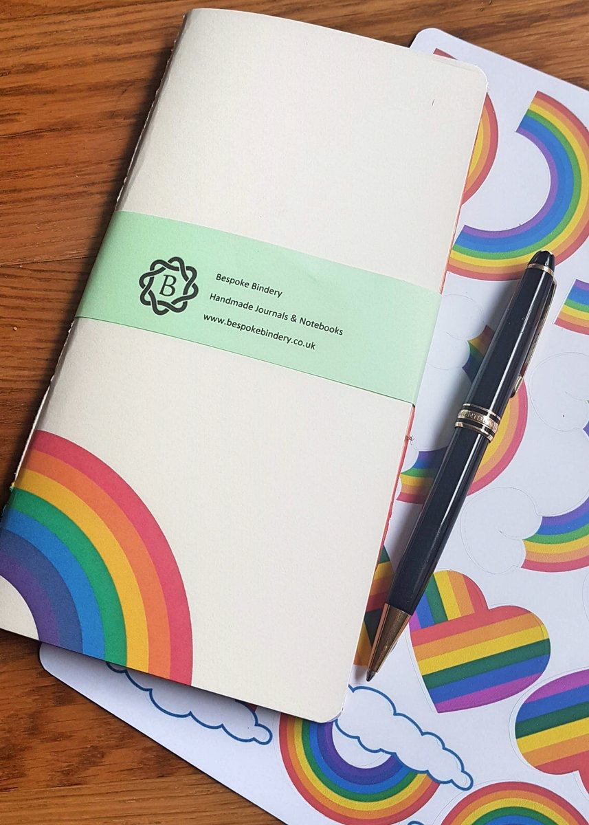 Excited to share the latest addition to my #etsy shop: Rainbow Traveler's Notebook Insert, NHS Key worker Rainbow Gift with Free Rainbow Stickers https://etsy.me/2KXnnYS #rainbow #mothersday #travelersnotebook #midorinotebook #tnbulletjournal #bulletplanner #nhspic.twitter.com/CAbsFcInH0