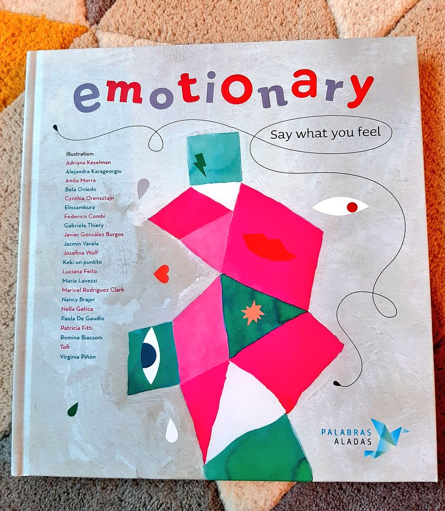 Another book share will cheer me up. This is Emotionary and its gorgeous! Each emotion is given its own illustration by different illustrators. #edutwitter #reading #books #picturebooks